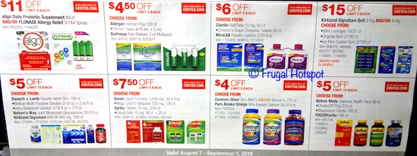 Costco Coupon Book August 2019 P23