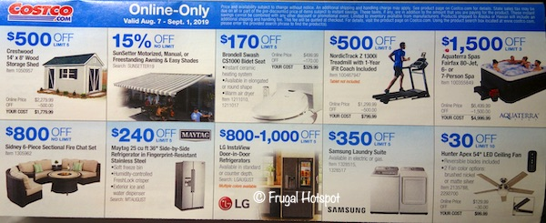 Costco Coupon Book August 2019 P25