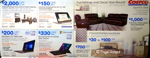 Costco Coupon Book August 2019 P26