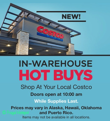 Costco Hot Buys August 2019 Cover