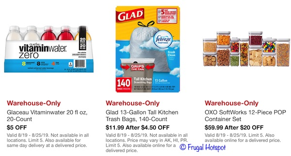 Costco Hot Buys August 2019 P3