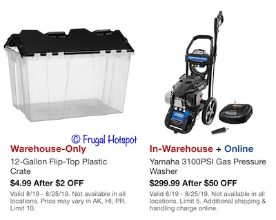 Costco Hot Buys August 2019 P6