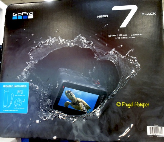 GoPro HERO7 Black Camera Bundle Costco