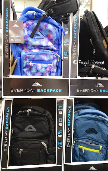 High Sierra Everyday Backpack Costco Display