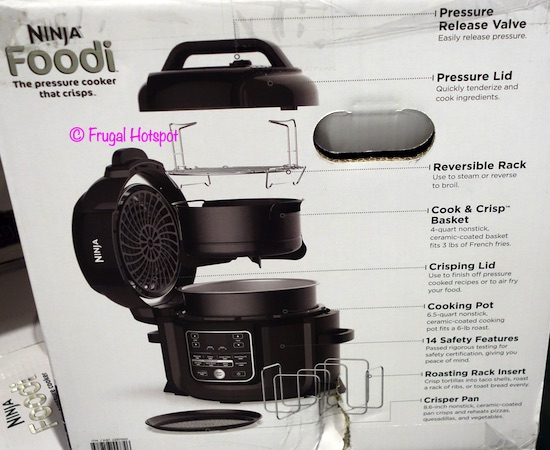 Ninja Foodi Pressure Cooker Air Fryer Costco