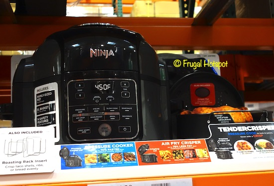 Ninja Foodi Pressure Cooker : Air Fryer Costco Display