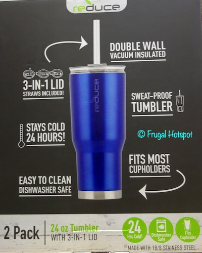 Reduce Cold 1 Tumbler 2-Pack Costco