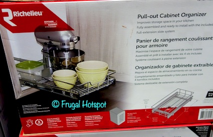 Richelieu 15 Pull-Out Cabinet Organizer Costco