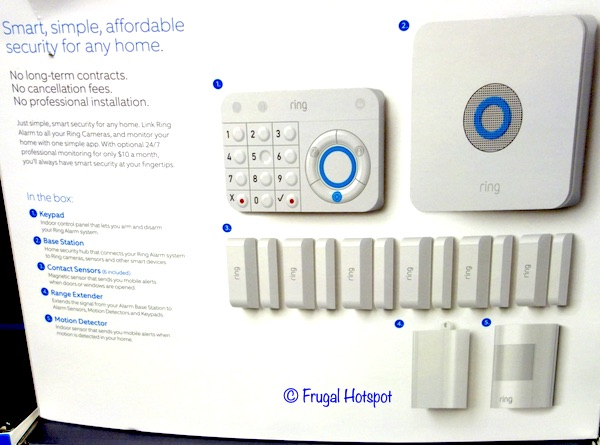 Ring Alarm Wireless Home Security Costco