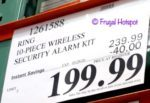 Ring Alarm Wireless Home Security Costco Sale Price