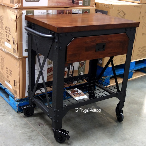 Costco Sale: Bayside Furnishings Vintage Kitchen Cart $149