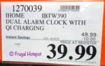 iHome Alarm Clock n Charger Costco Sale Price