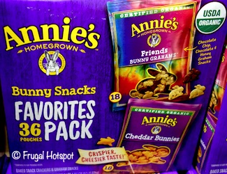 Annie's Organic Bunny Snacks 36-ct Costco