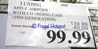 Apple Airpods with Charging Case 2nd gen | Costco Sale Price