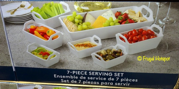 Baum 7-Piece Stoneware Serving Set Costco