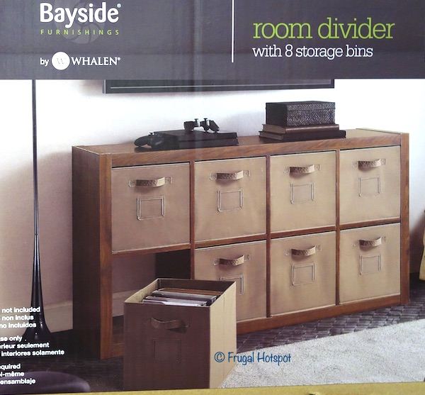 Bayside Furnishings O'nin Room Divider Costco