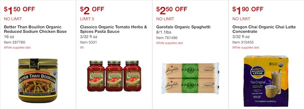Costco ORGANIC Coupon Book September 2019 Page 2