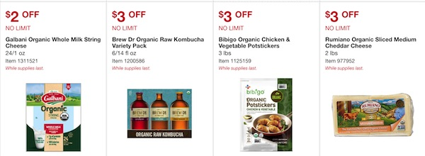 Costco ORGANIC Coupon Book September 2019 Page 4