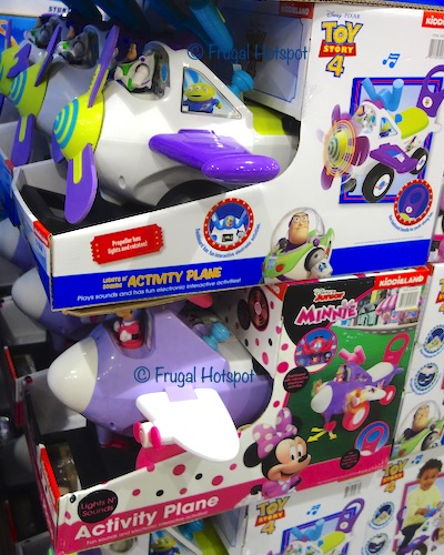 Disney Lights & Sounds Ride-on Activity Plane Costco