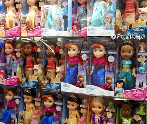 Disney Princess Toddler Doll Costco
