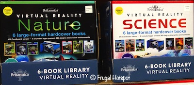 Encyclopedia Britannica Virutal Reality 6-Book Library Costco
