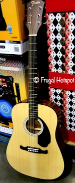 Fender Acoustic Guitar Pack Costco