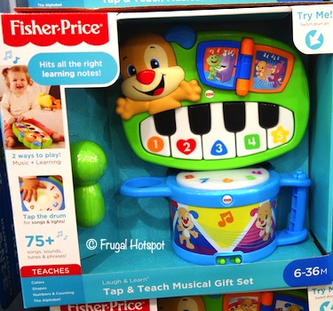 Fisher Price Laugh and Learn Tap and Teach Musical Set Costco