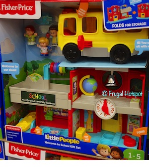 Fisher Price Little People Welcome to School Gift Set Costco
