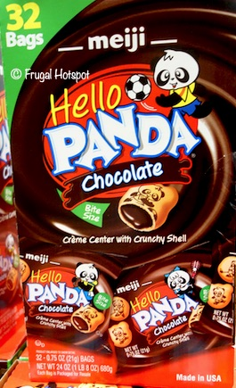 Hello Panda Chocolate Creme Filled Cookie 32 bags Costco