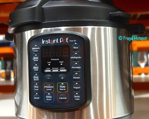 Instant Pot Duo SV 6-Quart Pressure Cooker Costco Display