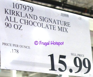 Kirkland Signature All Chocolate Mix 150-ct Costco Price