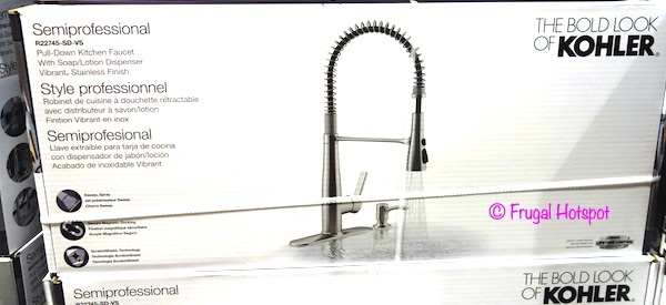 Kohler Semiprofessional Pull-Down Kitchen Faucet Costco