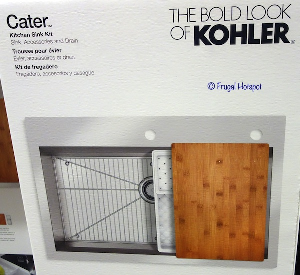 Kohler Stainless Steel Sink Kit Costco