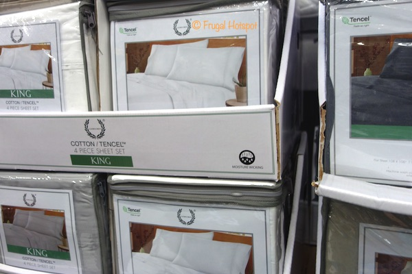 Laurel Crest 4-Piece Sheet Set King Size Costco