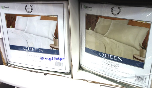 Laurel Crest 4-Piece Sheet Set Queen Size Costco