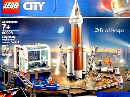 Lego City Deep Space Rocket and Launch Control Costco
