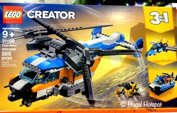 Lego Creator Twin Rotor Helicopter Costco