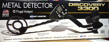 Metal Detector Discovery 3300 Costco
