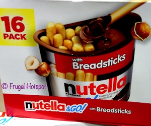 Nutella & Go! with Breadsticks 16-pack Costco