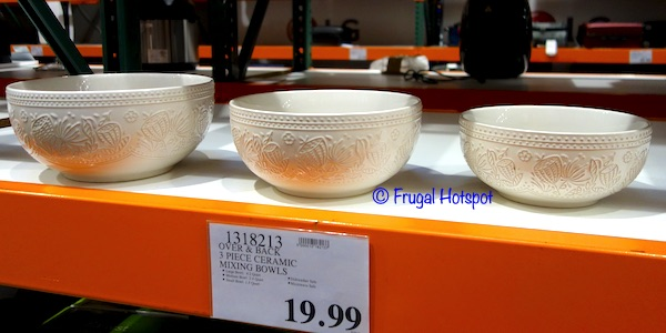 Over & Back Harvest Bowl Set Costco Display