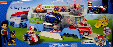 Paw Patrol Paw Patroller Ultimate Rescue Vehicle Set Costco
