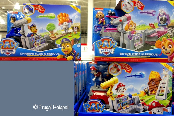 Paw Patrol Ride N Rescue Vehicles Costco