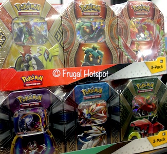 Pokemon Collector Tins 3-Pack Costco