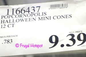 Popcornopolis Halloween Mini Cones 12-ct Costco Price