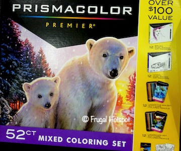PrismaColor Premier 52-ct Mixed Coloring Set Costco
