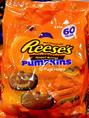 Reese's Peanut Butter Milk Chocolate Pumpkins 60-ct Costco
