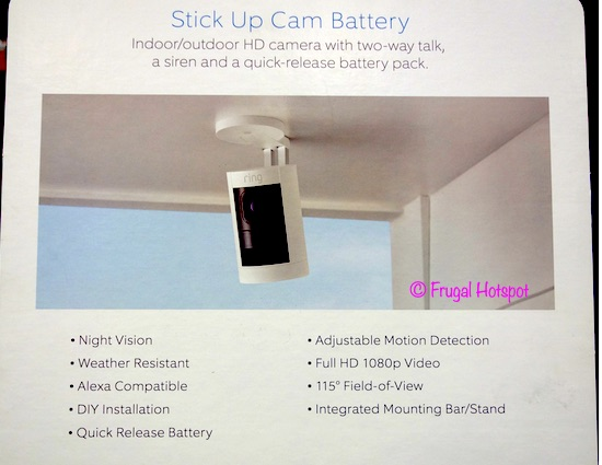Ring Stick Up Camera Battery 3-Pack Costco