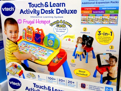 Vtech Touch & Learn Activity Desk Deluxe Costco