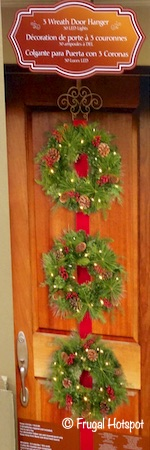 3 Wreath Door Hanger Costco