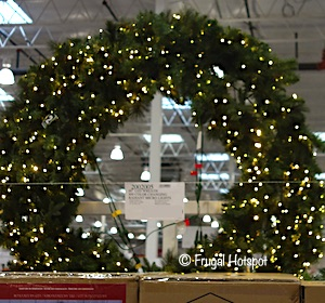 60 LED Wreath Costco